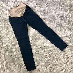 Old Navy Maternity navy blue corduroy skinny pants